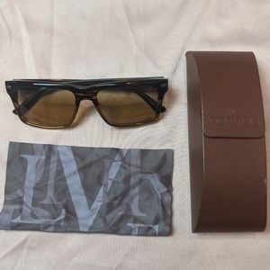 Oliver Peoples Brown Sunglasses with Case
